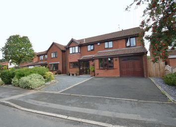 Thumbnail 4 bed detached house for sale in Berkeswell Close, Church Hill North, Redditch