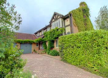 Thumbnail 5 bed detached house for sale in Hollyhook Close, Crowthorne