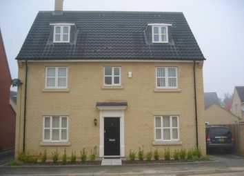 Thumbnail 5 bed detached house to rent in Privet Way, Red Lodge, Bury St. Edmunds