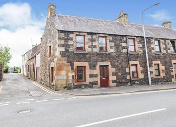 Thumbnail 3 bed end terrace house for sale in Cupar Road, Auchtermuchty, Cupar, Fife