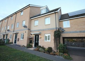Thumbnail 3 bed town house for sale in Dr Torrens Way, New Costessey, Norwich