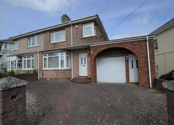 Thumbnail 3 bed semi-detached house for sale in Howard Road, Plymstock, Plymouth, Devon