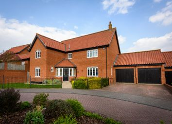 Thumbnail 4 bed detached house for sale in Stearn Close, Easton