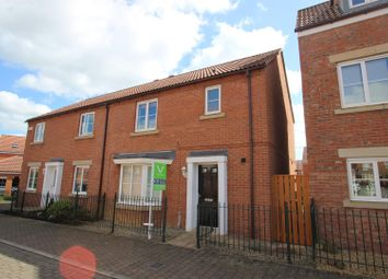 Thumbnail 3 bed semi-detached house to rent in Colpitts Lane, Darlington