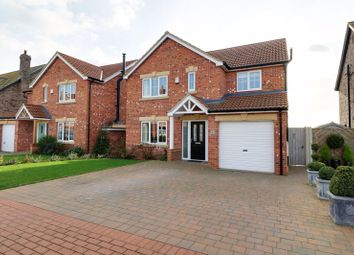 Thumbnail 4 bed detached house for sale in Gower Close, Ulceby