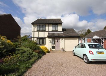 Thumbnail 3 bedroom detached house for sale in Pyeharps Road, Burbage, Hinckley