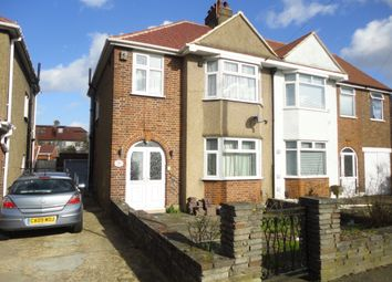 Thumbnail 3 bed semi-detached house to rent in Hogarth Gardens, Hounslow