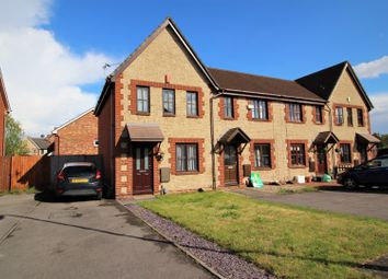 Thumbnail 2 bed end terrace house for sale in Kember Close, St Mellons