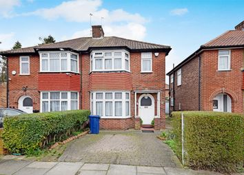 Thumbnail 3 bed semi-detached house for sale in Greengate, Greenford, Middlesex