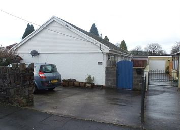 Thumbnail 3 bed detached bungalow for sale in Mwrwg Road, Llangennach, Llanelli
