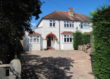 Thumbnail 4 bed semi-detached house for sale in Findon Road, Worthing