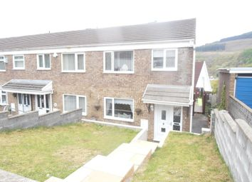 Thumbnail 3 bed end terrace house for sale in Pant-Y-Fedwen, Aberdare
