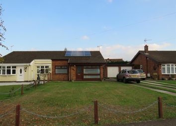 Thumbnail 2 bed semi-detached bungalow for sale in Robin Close, Bradwell, Great Yarmouth