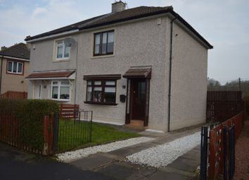Thumbnail 2 bedroom semi-detached house for sale in Lomond Drive, Wishaw.