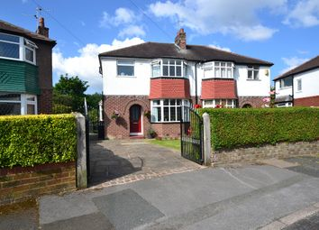 Thumbnail 3 bed semi-detached house for sale in Tenby Road, Cheadle Heath, Stockport