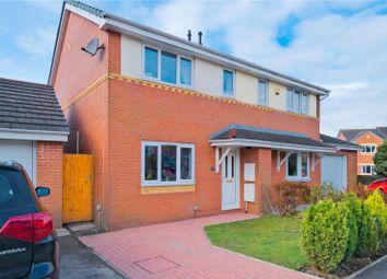 Thumbnail 3 bed semi-detached house for sale in Sutton Crescent, Huncoat, Accrington