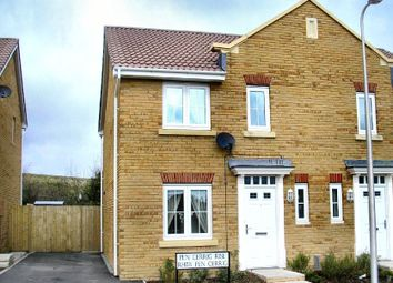 Thumbnail 3 bed semi-detached house for sale in Pencerrig Rise, Heolgerrig, Merthyr Tydfil
