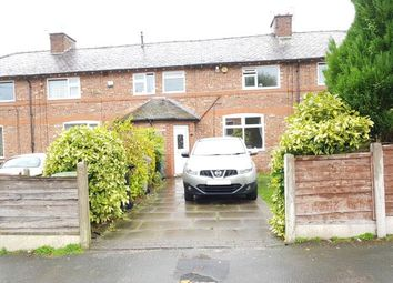Thumbnail 3 bed terraced house for sale in Stamford Avenue, Altrincham, Greater Manchester