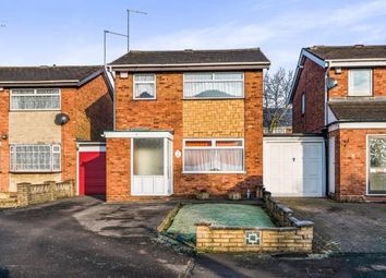 Thumbnail 3 bed detached house for sale in Segundo Close, Walsall, West Midlands