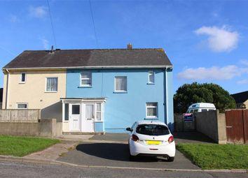 Thumbnail 3 bed semi-detached house for sale in Stranraer Lane, Pennar, Pembroke Dock