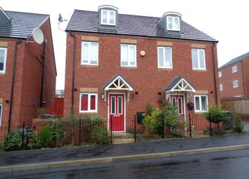 Thumbnail 3 bed town house for sale in Bottomley Side, Blackley
