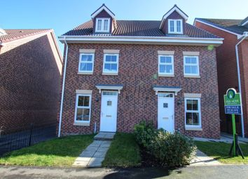 Thumbnail 3 bedroom semi-detached house for sale in Holly Crescent, Sacriston, Durham