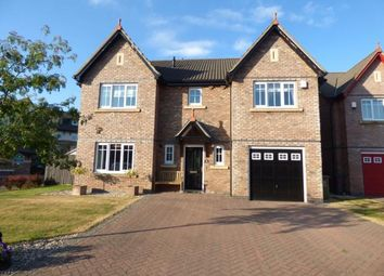 Thumbnail 4 bed detached house for sale in Parkland Drive, Carlisle, Cumbria