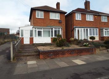Thumbnail 3 bed detached house for sale in Tallington Road, Sheldon, Birmingham, West Midlands