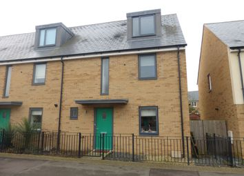 Thumbnail 4 bed end terrace house for sale in Fen Street, Brooklands, Milton Keynes