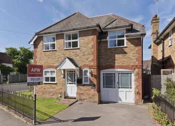 Thumbnail 4 bed detached house to rent in Copse Road, Cobham