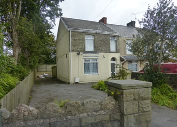 Thumbnail 2 bed end terrace house for sale in Pentregethin Road, Ravenhill, Swansea