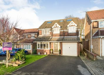 Thumbnail 5 bed detached house for sale in The Crofts, Basingstoke