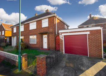 Thumbnail 3 bed semi-detached house for sale in Burns Road, Middlesbrough