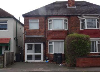 Thumbnail 3 bed semi-detached house to rent in Goosemore Lane, Erdington