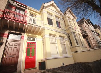 Thumbnail 3 bed terraced house to rent in Crow Park, Fernleigh Road, Mannamead, Plymouth