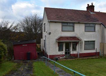 Thumbnail 3 bed semi-detached house for sale in Maes Y Glyn, Lower Brynamman, Ammanford