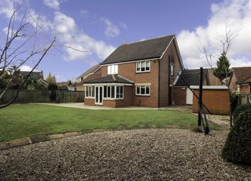 Thumbnail 4 bed detached house for sale in Haslewood, Newton Aycliffe