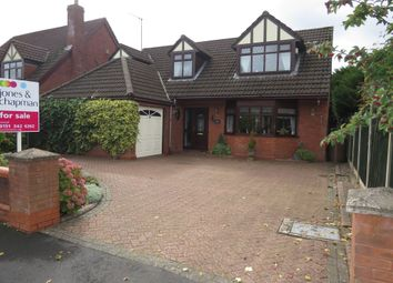 Thumbnail 3 bed detached house for sale in Woodlands Drive, Barnston, Wirral