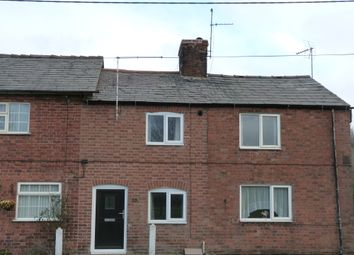 Thumbnail 2 bed terraced house to rent in Grindley Brook, Whitchurch