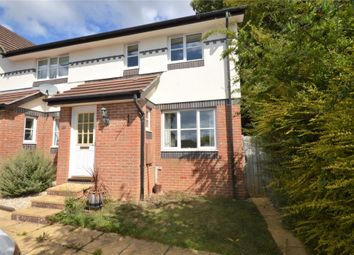 Thumbnail 3 bed end terrace house for sale in Evran Drive, Exmouth, Devon