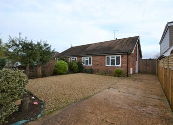 Thumbnail 2 bed semi-detached bungalow for sale in Woodend Road, Heacham, King's Lynn