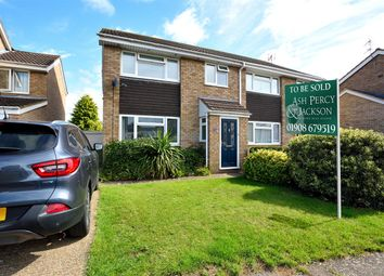 Thumbnail 3 bed semi-detached house for sale in Burns Close, Newport Pagnell, Newport Pagnell