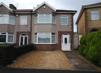 Thumbnail 3 bedroom end terrace house for sale in Ravenhill Road, Knowle, Bristol