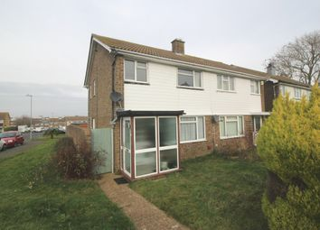 Thumbnail 3 bed semi-detached house for sale in Gainsborough Crescent, Langney, Eastbourne