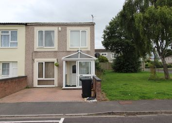 Thumbnail 3 bed end terrace house for sale in Butcombe Walk, Whitchurch, Bristol