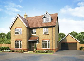 """Thumbnail 5 bed detached house for sale in """"Langham"""" at Hatfield Road, Witham"""