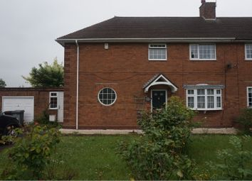 Thumbnail 3 bed semi-detached house to rent in Northwood Park Road, Wolverhampton