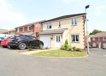 Thumbnail 3 bedroom detached house for sale in Bailey Crescent, Langstone, Newport