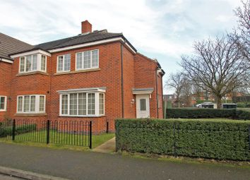 Thumbnail 3 bedroom town house for sale in Edison Way, Arnold, Nottingham