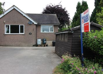 Thumbnail 2 bed semi-detached bungalow for sale in Lake Road, Rudyard, Near Leek, Staffordshire